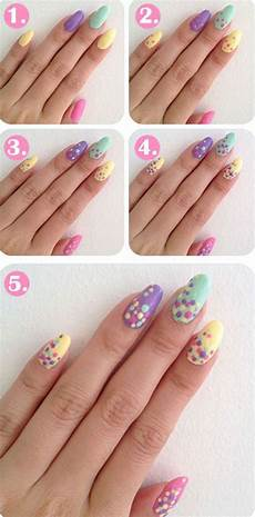 Easy Step By Step Toenail Designs 20 Easy Step By Step Summer Nail Art Tutorials For