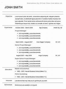 A Chronological Resumes Chronological Chronological Resume Chronological Resume