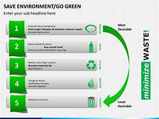 Save Powerpoint Template Save Environment Go Green Powerpoint Template Sketchbubble