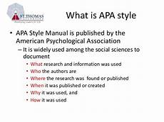 What Is Apa Formating Apa Style Tutorial