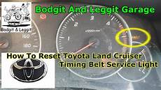 How To Reset Timing Belt Light On Toyota Hiace 2016 How To Reset Toyota Land Cruiser Timing Belt Light Bodgit