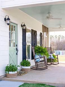 Farmhouse Front Porch Lights Front Porch Decorating Ideas Rc Willey Blog