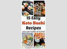 Keto Sushi: How to Make & Order It (With images)   Sushi