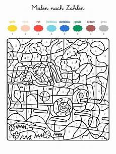 kinder malvorlagen malen nach zahlen kinder ausmalbilder