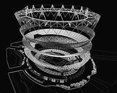 London Olympic Stadium Lights London Olympic Stadium Building Uk E Architect