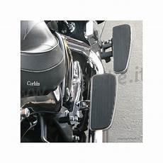 pedane posteriori moto pedane comfort larghe regolabili solid passeggero baron