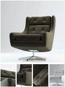Black Sofa Chair 3d Image by Black Foot Sofa Chair 3d Model 3d Model Free 3d