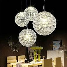 Ball Ceiling Light 2015 New Crystal Round Ball Chandeliers Led Lighting