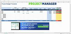 Project Budget Template Excel The 7 Best Project Management Templates For Excel 2020