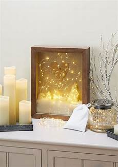 Battery Powered Shadow Box Light Pin On Fairy Light Love