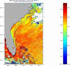 Sst Charts Rutgers Florida Current Sea Surface Temperatures Wednesday July 5