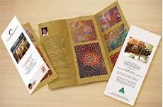 Art Gallery Brochure Design Elegant Serious Business Brochure Design For The