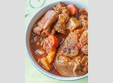 Slow Cook Pork Hock Stew Recipe   Panlasang Pinoy