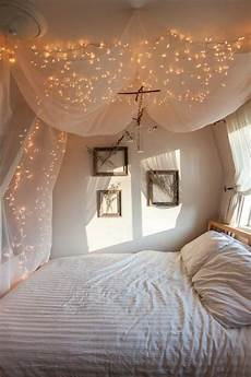 How To Make A String Light Curtain Cheap String Lights Decor For Making Your Bedroom Cozy