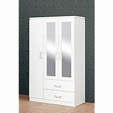 the best 3 door white wardrobes with drawers