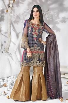 Clothes Design 2017 In Pakistan Warda Designer Silk 2017 Pakistani Party Wear Dresses At