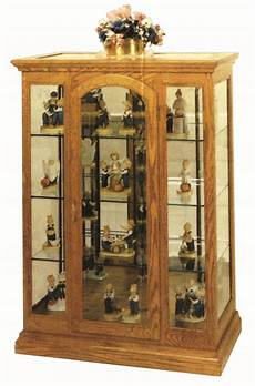 small mission curio cabinet from dutchcrafters amish furniture