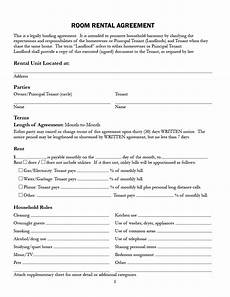 Rental House Rules Template Tenant House Rules Sample