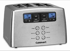 Cuisinart Stainless Steel Touch to Toast Leverless Toaster
