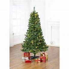 Christmas Tree With Lights Asda 6ft 180cm Traditional Christmas Tree Pre Lit Asda