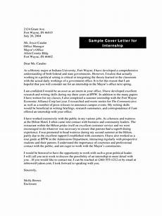 Writing A Cover Letter For Internship Internship Cover Letter Examples 9 Free Templates In Pdf