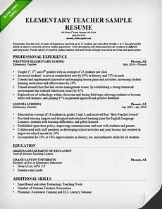 Writing A Teaching Resume Teacher Resume Samples Amp Writing Guide Resume Genius