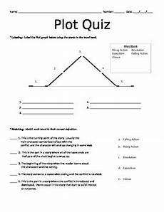 Plot Diagram Quiz Basic Plot Quiz By Taylor J Teachers Pay Teachers