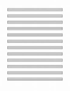 Music Staff Sheet Music Staff Paper 12 Per Page