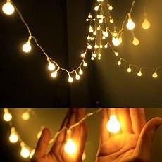 Starry String Lights Walmart Led String Lights Warm White Ball Fairy Lights