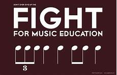education music fight for education poster tone deaf