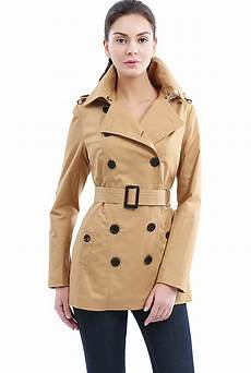 trench coats for tire bgsd s classic hooded trench coat