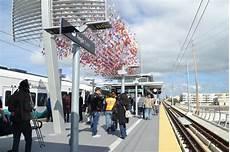 Seattle Light Rail Angle Lake Station Sound Transit Inaugurates Service On Angle Lake Link