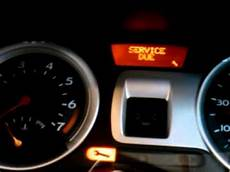 Renault Master Service Light Reset How To Reset A Service Indicator Light On A 2006 Renault