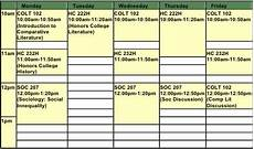 My College Schedule Building Your Schedule My College Advice