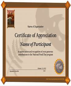 Certificate Of Appreciation Examples Free 32 Sample Certificate Of Appreciations In Ms Word