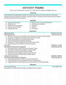 Office Machines List Resume Best Office Assistant Resume Example Livecareer