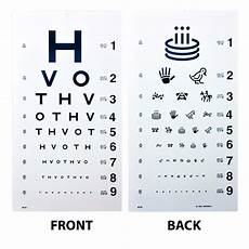Printable Allen Picture Eye Chart Hotv Eye Chart 20 Distance Eye Cards Amp Eye Charts