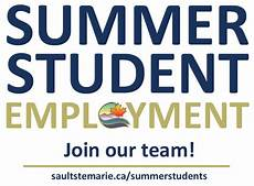 Summer Employment Summer Student Employment City Of Sault Ste