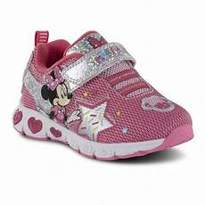 Disney Character Light Up Shoes Character Toddler Girls Minnie Mouse Light Up Sneaker Pink