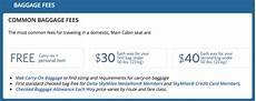 United Domestic Baggage Fees Delta Is Next In Us Airlines Raising Checked Bag Fees