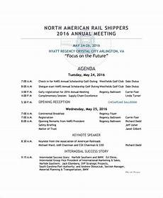 Template Of An Agenda Annual Meeting Agenda Template 8 Free Word Pdf