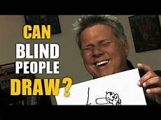 Jobs Blind People Can Do Can Blind People Draw Youtube