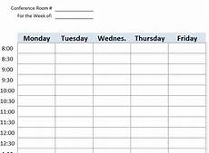 Booking Schedule Template Meeting Room Booking Amp Reservation Template Excel