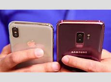 Galaxy S9 vs. iPhone X: Which to buy   CNET