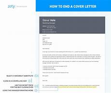Closing Line For Cover Letters How To End A Cover Letter Sample Amp Complete Guide 20