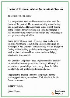 Recommendation Letter From Teacher How To Write A Recommendation Letter For A Teacher