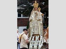 Procession features statue of Our Lady of Mt. Carmel