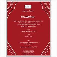 Invitations Companies 13 Work Dinner Invitations Word Psd Publisher Free
