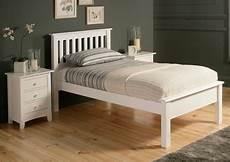shaker white wooden bed frame lfe single bed frame