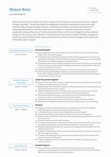 structural engineer resume sample structural engineer resume samples and templates visualcv